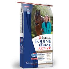 Purina Equine Senior Active Healthy Edge 50 lb Textured - TB