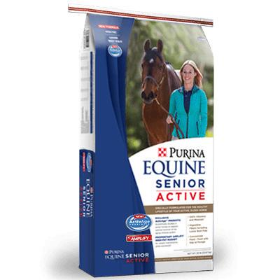 Purina Equine Senior Active Healthy Edge 50 lb Textured