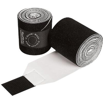 Polo Bandages T Sport Wrap Non Slip Pair