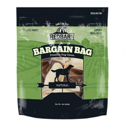 Redbarn Natural Bargain Bag Dog Chews 2 b
