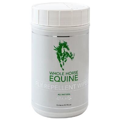 Whole Horse Equine Fly Spray Wipes