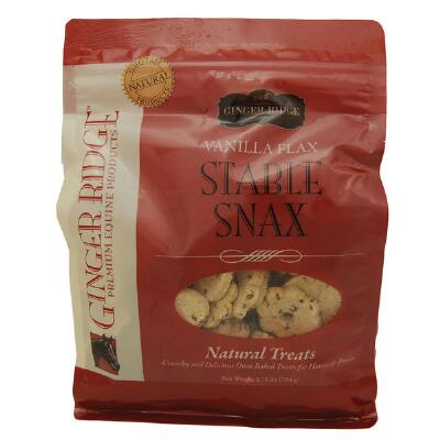 Ginger Ridge Stable Snax Vanilla Flax Treat 1.75lbs