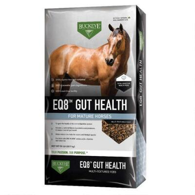 Buckeye Nutrition EQ8 Gut Health 50 Lb Texturized
