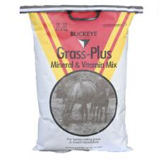 Buckeye Nutrition Grass Plus Mineral and Vitamin Mix 25 Lb - TB
