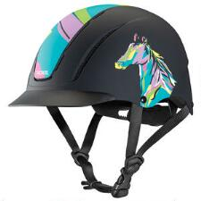 Troxel Spirit Pop Art Pony Helmet - TB