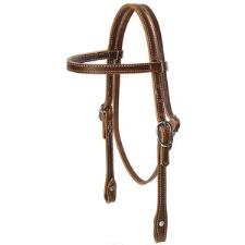 Weaver Harness Leather Pony Browband Headstall - TB