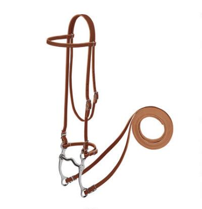 Weaver Harness Leather Pony Bridle Complete With Reins