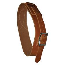 Leather Cribbing Collar Horse Size - TB