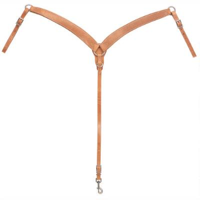 Contoured Harness Leather Breast Collar