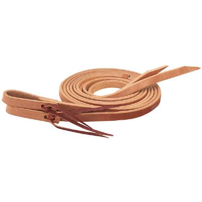 Single-Ply Heavy Harness Leather Split Reins .75 in x 8 ft