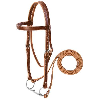 Weaver Leather Draft Horse Bridle Set