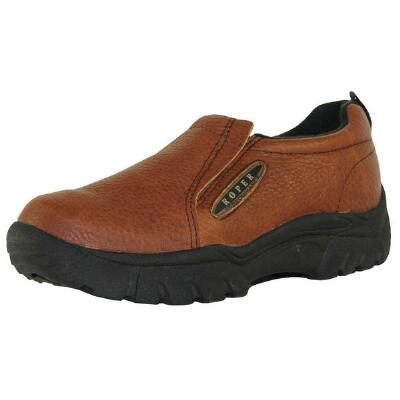 Performance Sport Mens Slip On Brown