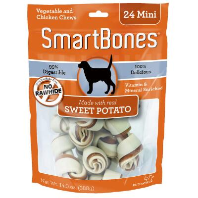 Smart Bone Sweet Potato Mini 24 Pack