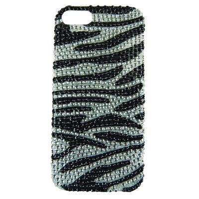 Blazin Roxx iPhone 4 Cover Zebra Bling