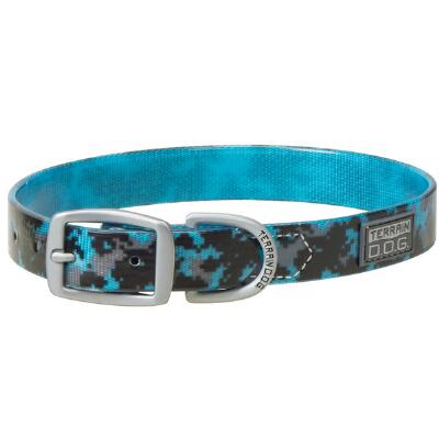 Terrain Dog Clear Coat Brahma Webb Dog Collar