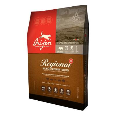Orijen Regional Red Grain Free Dog Food 25 lb