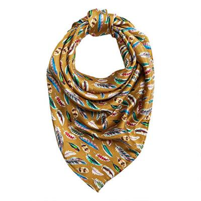 Wild Rags Feathers Ladies Silk Scarf