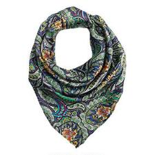 Wild Rags Floral Scroll Ladies Silk Scarf - TB