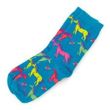 Neon Horse Youth Sock