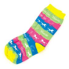 Horse Waves Youth Sock