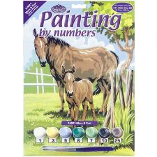 Paint By Number Kit Mare & Foal