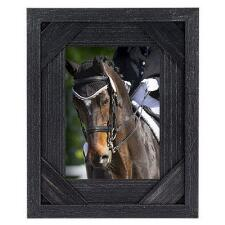 Antiqued Black Barnwood Style 5x7 Picture Frame