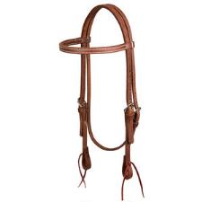 Weaver ProTack Oiled Browband Headstall - TB