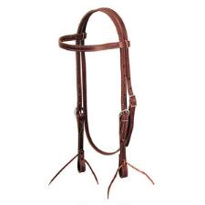 Weaver Latigo Leather Browband Headstall - TB