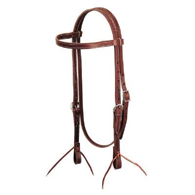 Latigo Leather Browband Headstall