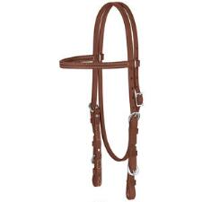 Weaver ProTack Quick Change Oiled Browband Headstall - TB