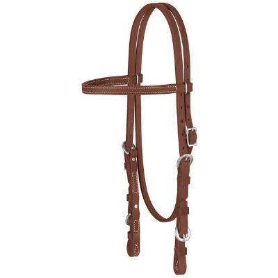 Weaver ProTack Quick Change Oiled Browband Headstall