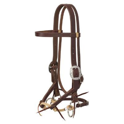Weaver Justin Dunn Canyon Rose Bitless Bridle