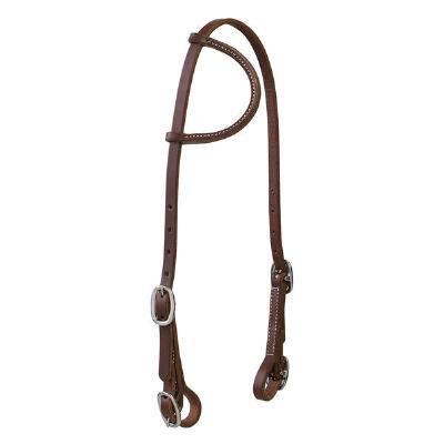 Working Cowboy Sliding Ear Headstall
