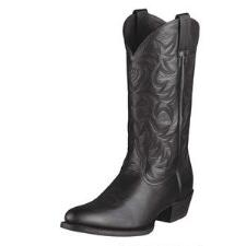 Heritage Mens Round Pointed Toe Western Boot