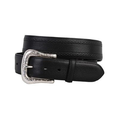 Ariat Western Perforated Edge Mens Belt Black