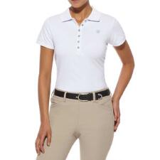 Prix Solid Short Sleeve Ladies Polo