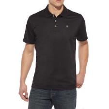 Ariat Mens TEK Polo in Black - TB