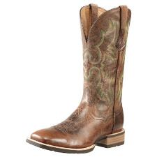 Ariat Tombstone Mens Western Boot Weathered Chestnut