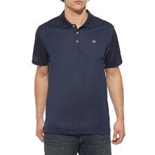 Ariat AC Tek Short Sleeve Mens Polo - TB