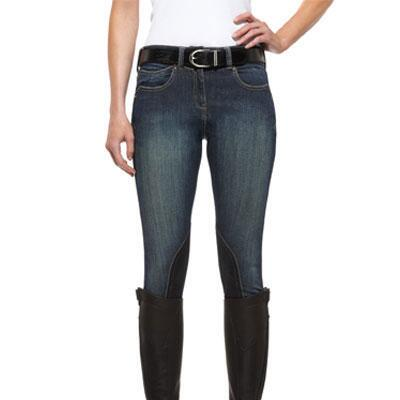 Ariat Denim Knee Patch Ladies Breech