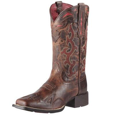 Sidekick Square Toe Ladies Western Boot