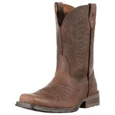 Ariat Rambler Phoenix Mens Roper Distressed Brown - TB