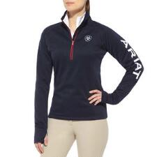 Ariat Team Tek Ladies Quarter Zip