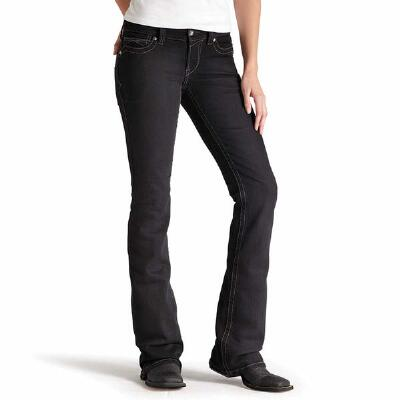 REAL Black Womens Riding Jean