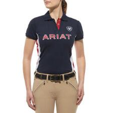 Ariat Team Short Sleeve Ladies Polo Shirt