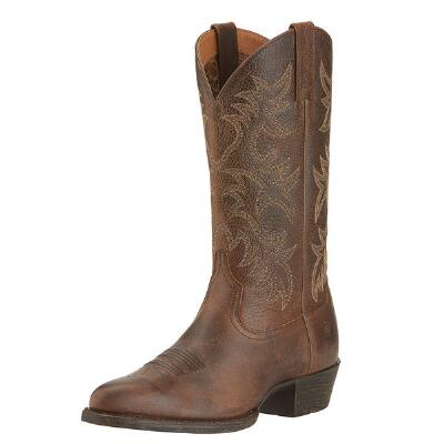 Heritage Round Toe Mens Western Boot