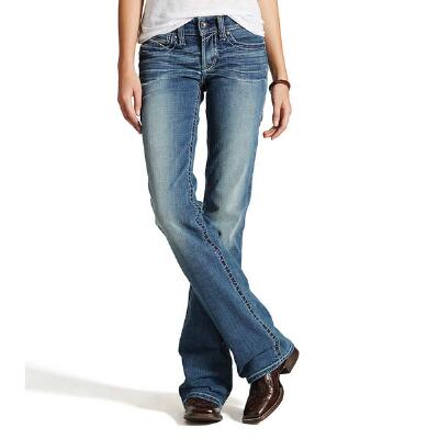 REAL Whipstitch Rainstorm Womens Riding Jean