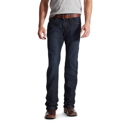 Ariat M5 Rebar Blackstone Slim Straight Leg Mens Jeans