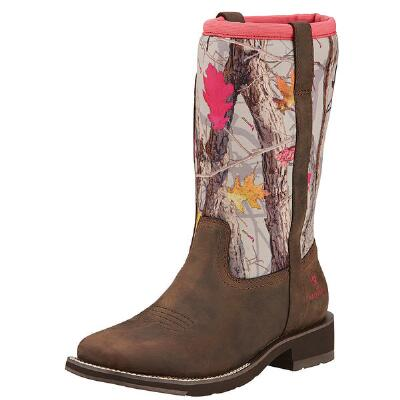 Fatbaby All Weather Square Toe Ladies Western Boot