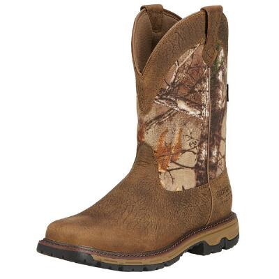 Conquest Pull-On H2O Insulated Mens Western Boot